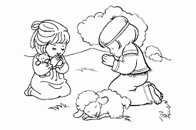 Praying Hands Coloring Page Free Pages For Kids 288776
