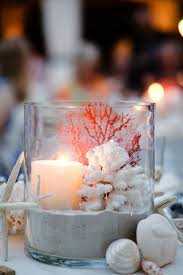 Awesome Beach themed Wedding Centerpieces