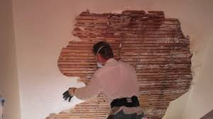 Skim Coat Ceiling Vs Plaster Ceiling by Teaching How To Remove And Repair Interior Plaster On Walls Or