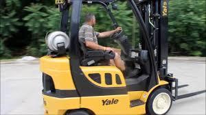 100 Yale Lift Trucks 2007 YALE 5000 LBS CAPACITY PROPANE FORKLIFT YouTube