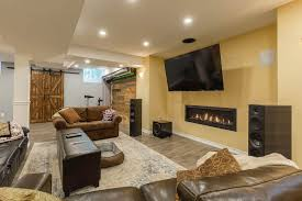 15 Great Renovation Ideas To Top 15 Finished Basement Ideas Renovation Projects Designs