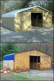 Another View Of Our Horse Shelter That We Are Building Out Of An ... Metal Horse Barns Pole Carport Depot For Steel Buildings For Sale Buy Carports Online Our 30x 36 Gentlemans Barn With Two 10x Open Lean East Coast Packages X24 Post Framed Carport Outdoors Pinterest Ideas Horse Barns And Stalls Build A The Heartland 6stall 42x26 Garage Lean To Building By 42x 41 X 12 Top Quality Enclosed 75 Best Images On Custom Prices Utility