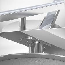 led design deckenleuchte wohnzimmer modern deckenle aluoptik schwenkbar 12w