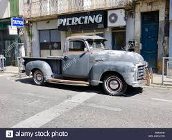 100 1953 Gmc Truck Old Gray Weathered Classic GMC 100 Pickup Truck With Wood