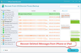 How to Recover Deleted iMessages from iPhone iPad for Free
