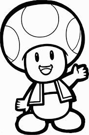 Coloriage De Toad