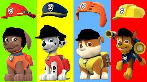 Wrong Caps Hat Helmet Paw Patrol Finger Family Song Nursery Rhymes
