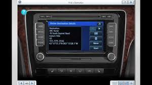 Vw Passat Floor Mats 2016 by First Video Volkswagen U0027s New Car Net Navigation System Passat