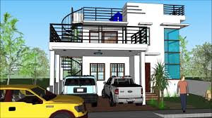 100 2 Storey House With Rooftop Design Modern With Roof Deck YouTube