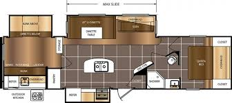 Fifth Wheel Bunkhouse Floor Plans by 12 Must See Bunkhouse Rv Floorplans U2013 Welcome To The General Rv
