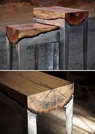 Cast Aluminum and Wood Furniture at werd