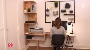 bureau pratique et design déco un bureau sur mesure ccvb ccvb diy