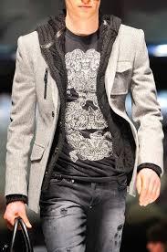 Philipp Plein Mens A W 13 Layered Casual Style