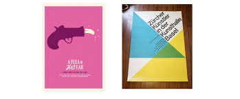Examples Of Simplistic Poster Designs Advertisements