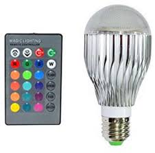 10w rgb led light bulb 10w rgb color changing 16 colors changing