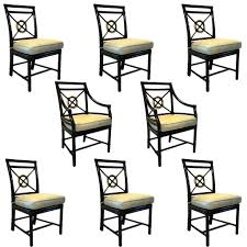 Target Dining Table Chairs by Set Of 8 American Mcguire Black Rattan Target Dining Chairs Eron