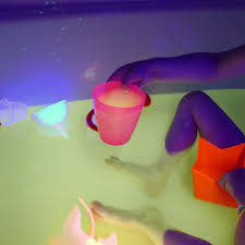 Safe And Edible Glow Water For Baths Play
