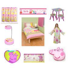 Interesting Design Peppa Pig Bedroom PEPPA PIG BEDDING Amp BEDROOM ACCESSORIES