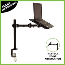 Desk Mount Monitor Arm Philippines by Laptop Notebook Stand Desk Desktop C Clamp Mount Fully Adjustable