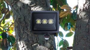 led outdoor security lighting startle criminals