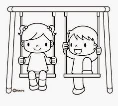 Playground Coloring Pages Download Clipart Print