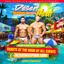 100 Sagauro Palm Springs DESERT HEAT Pride Weekend 2018 Tickets 110218