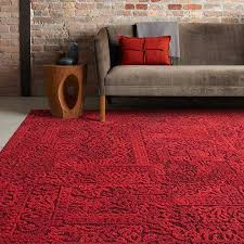 70s house style new chenille carpet squares by flor retro