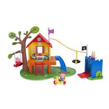 peppa pig treehouse playset everest wholesale toys r us