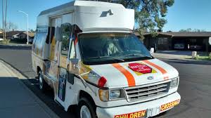 100 Concession Truck Ice Cream TruckCustom Colorful Van Concession Food Events Money Maker