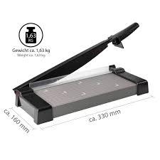 onvaya hebelschneider papierschneider schneidegerät papierschneidemaschine fotoschneider stapelschneider