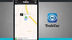 TrakCar Find Where You Parked Your Car iPhone App Demo