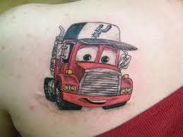 100 Semi Truck Tattoos Ing Pictures Er Tattoo