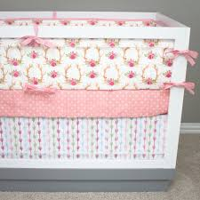 Arrow Crib Bedding by Baby Bedding Floral Antler Crib Bedding Pink And Green