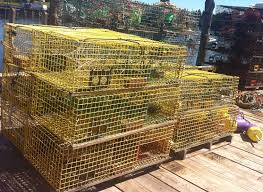 Decorative Lobster Trap Buoys by Art