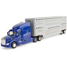 100 Toy Peterbilt Trucks Trucks Big Peterbilt Model With Livestock Trailer Rhwalmartcom