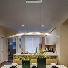 FOSHAN MINGZE Stylish Contemporary LED Pendant Light With Adjustable HeightChrome Finished Chandelier Ceiling Fixture For Dining Room Kitchen