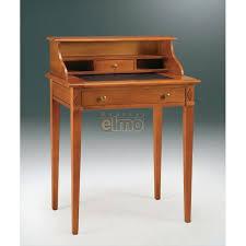 bureau bonheur du jour bonheur du jour merisier massif 2 tiroirs tirette cuir art2