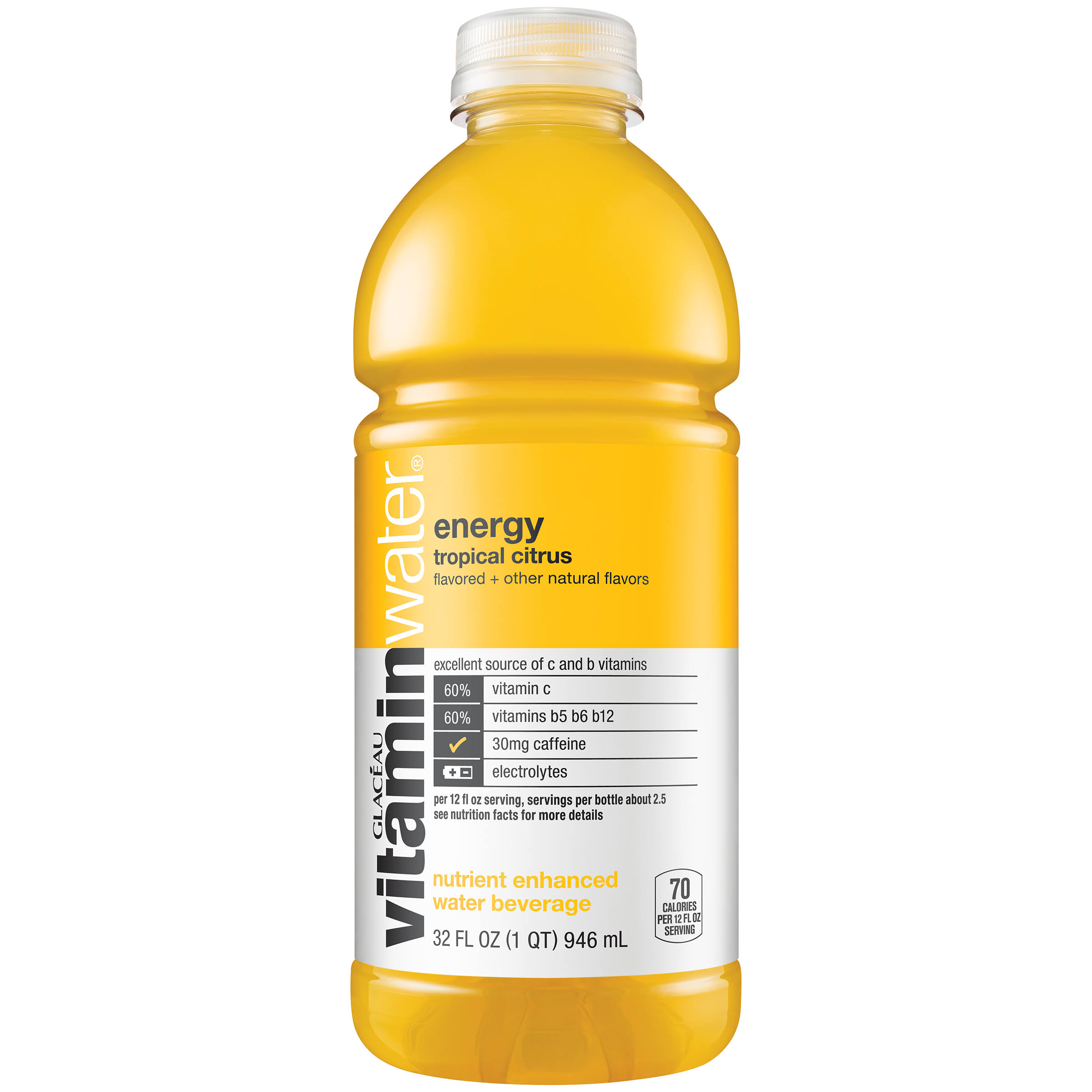 Vitaminwater Energy Tropical Citrus Nutrient Enhanced Water