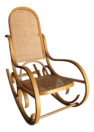 Vintage Luigi Crassevig Bentwood Rocking Chair In The Style ...