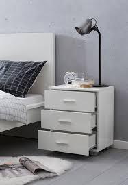 finebuy design nachtkonsole holz 45x54x34cm nachttisch hochglanz modernes nachtkästchen mit aufbewahrung bettschrank mit schubladen kleine