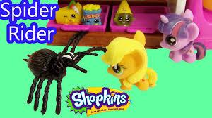 Bakery Story Halloween by Mlp Fashem U0027s Shopkins My Little Pony Spider Rider Twilight Sparkle