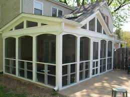 Inexpensive Screened In Porch Decorating Ideas by Enclosed Porch Ideas Composite Decking For Enclosed Back Porch