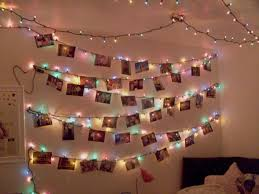Wonderful Christmas Tree On Wall With Lights Images Design Ideas