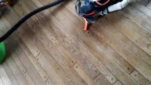 home made floor sander youtube