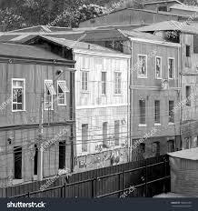 100 Houses In Chile Colorful Valparaiso Black White Stock Photo Edit Now