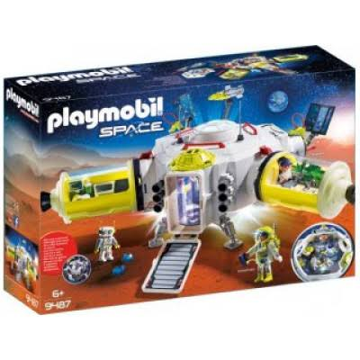 "Playmobil Mars Space Station Playkit - 19.7"" x 11"" x 7.9"""