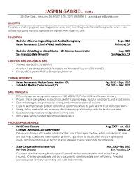 Ultrasound Resume Exles by Ultrasound Resume Resume Templates