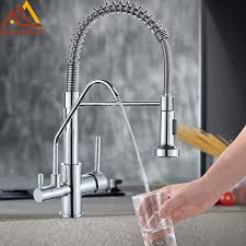 Kitchen Faucet Water Quyanre Waterfilter Kitchen Faucet Water Kitchen Faucet 360 Rotation 3 Ways Filter Kitchen Tap Water Taps