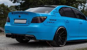 Carbon Fiber Rear Diffuser – BMW E60 M5 – DINMANN
