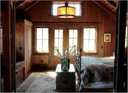 Rustic Country Master Bedroom Ideas With Wooden Flooring And Cool